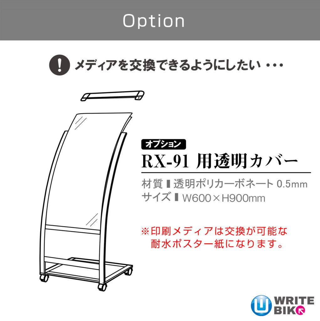 RX-91用透明カバー