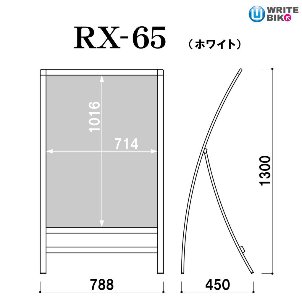 スタンド看板のRX-65
