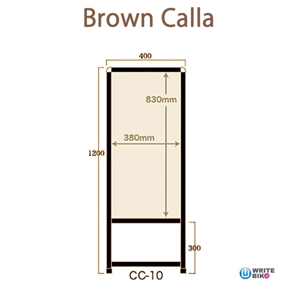CC-10ブロンズのサイズ