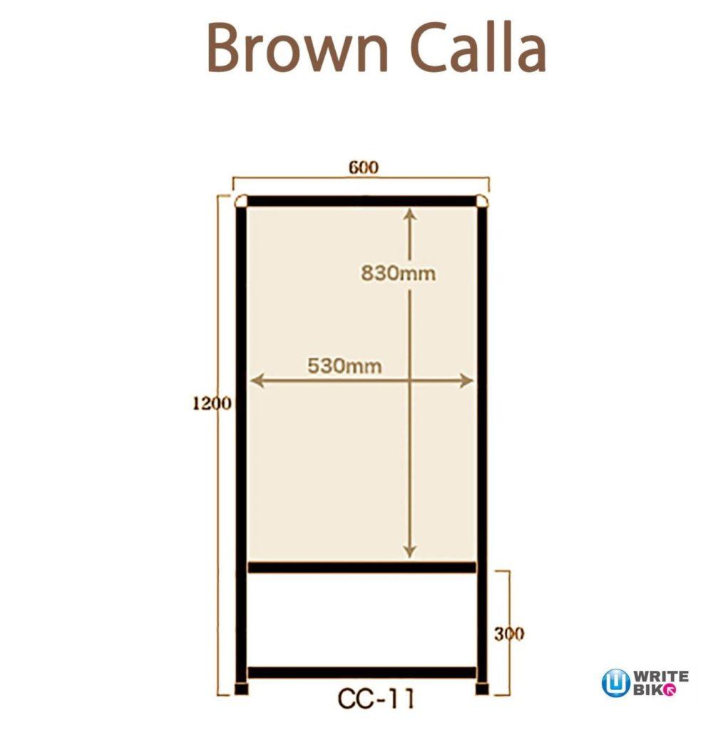 CC-11ブロンズのサイズ