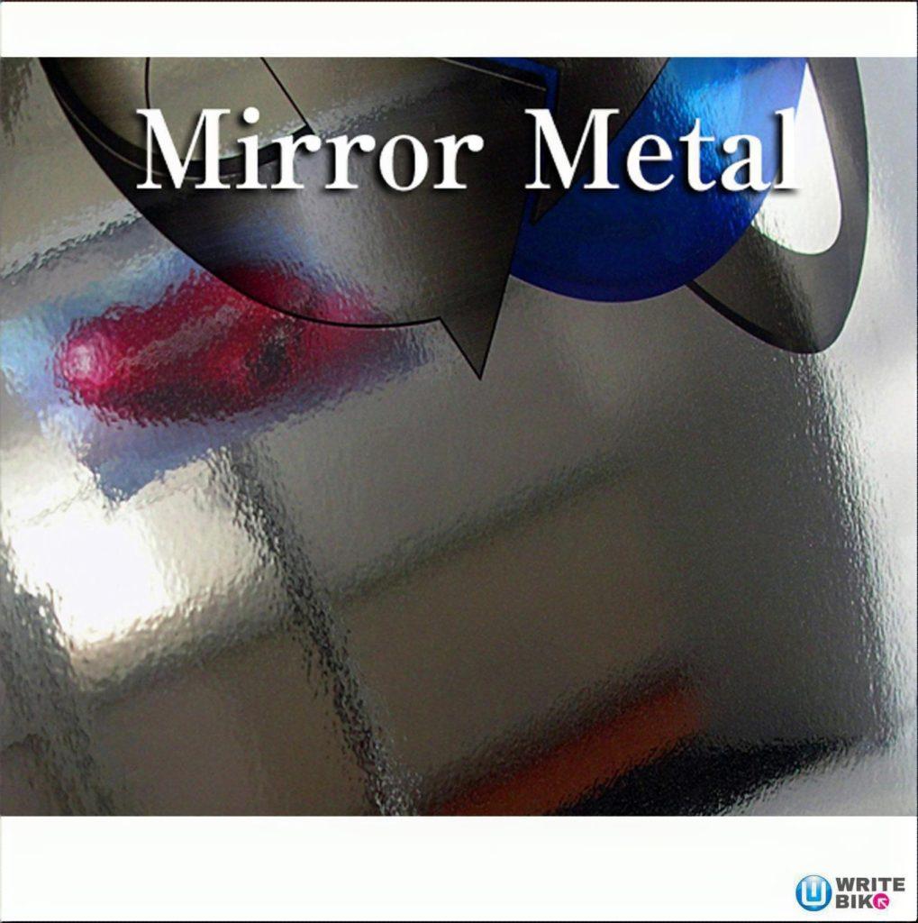 WXカーブサイン鏡面ミラー調のアイコン画像