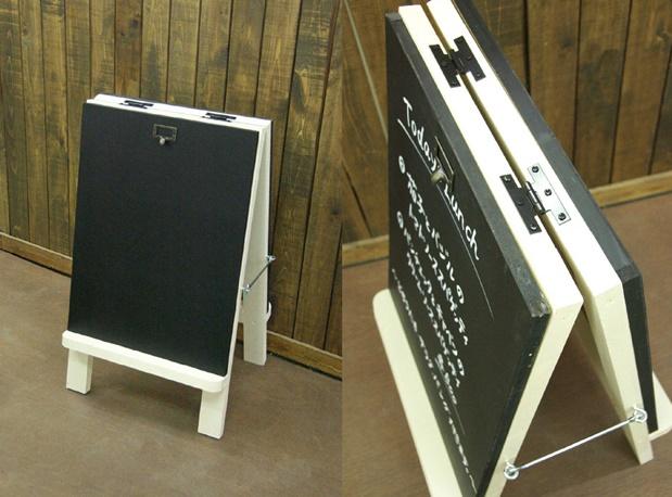 可愛い看板の黒板スタンド