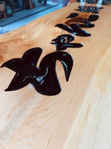 木彫り看板・木製看板